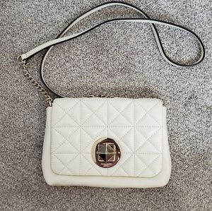 Kate spade white crossbody purse